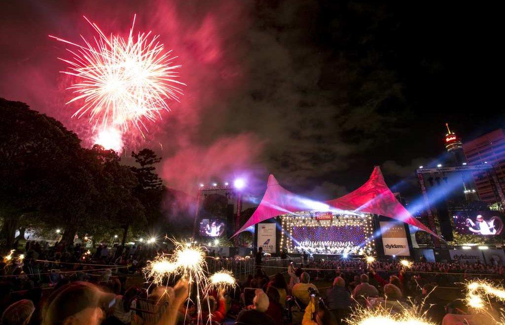 Sydney - January 16, 2016: Symphony in the Domain during the 2016 Sydney Festival (photo by Jamie Williams/Sydney Festival)