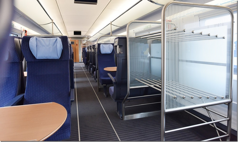 ICE-3-Redesign, 2. Klasse; Foto: Deutsche Bahn AG/Oliver Lang