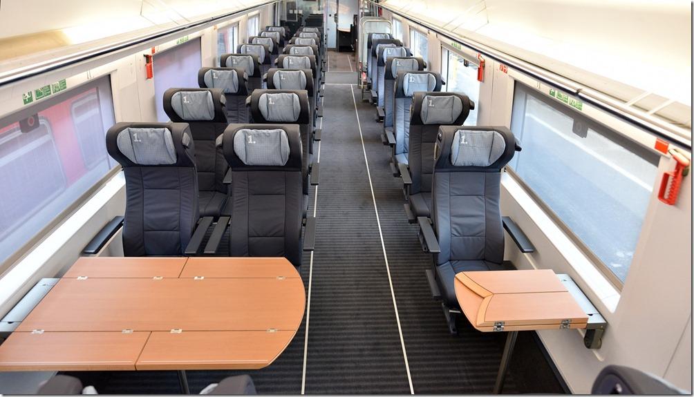 ICE-3-Redesign, 1. Klasse; Foto: Deutsche Bahn AG/Oliver Lang