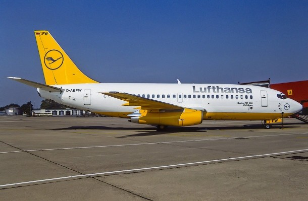 Die Lufthansa verabschiedet sich von ihrer Symbolfarbe
