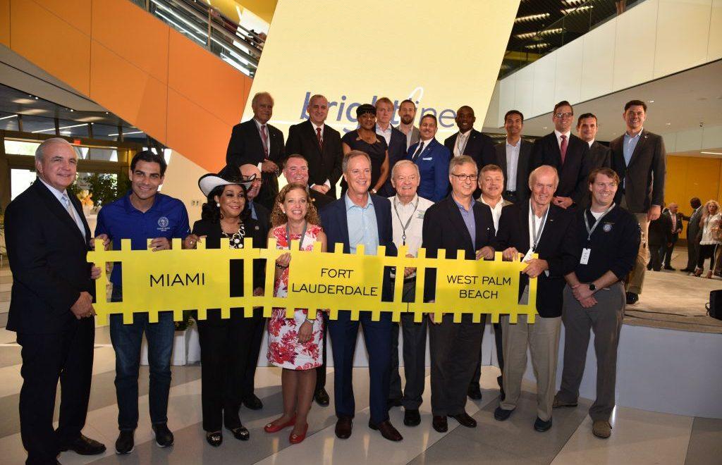 Neu: Zugverbindung von West Palm Beach über Fort Lauderdale nach Miami