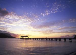 Pier sunset-klein